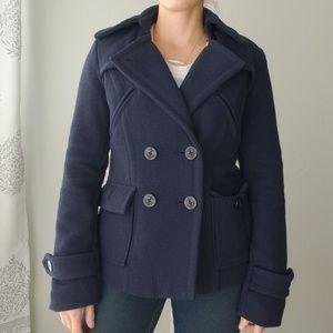 American Eagle Navy Pea Coat